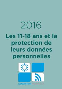 Les 11-18 ans et la protection de leurs données personnelles