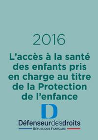 L'accès à la santé des enfants pris en charge au titre de la Protection de l'enfance