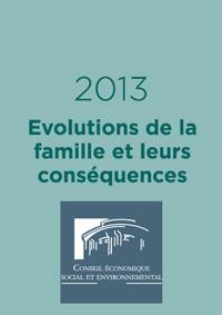 Evolutions de la famille et leurs conséquences