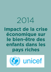 Impact de la crise économique sur le bien-être des enfants dans les pays riches