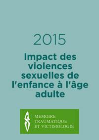 Impact des violences sexuelles de l'enfance à l'âge adulte