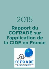 Rapport du COFRADE sur l'application de la Convention Internationale relative aux droits de l'enfant en France