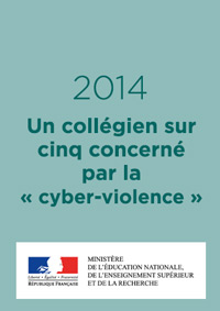 """Un collégien sur cinq concerné par la """"cyber-violence"""""""