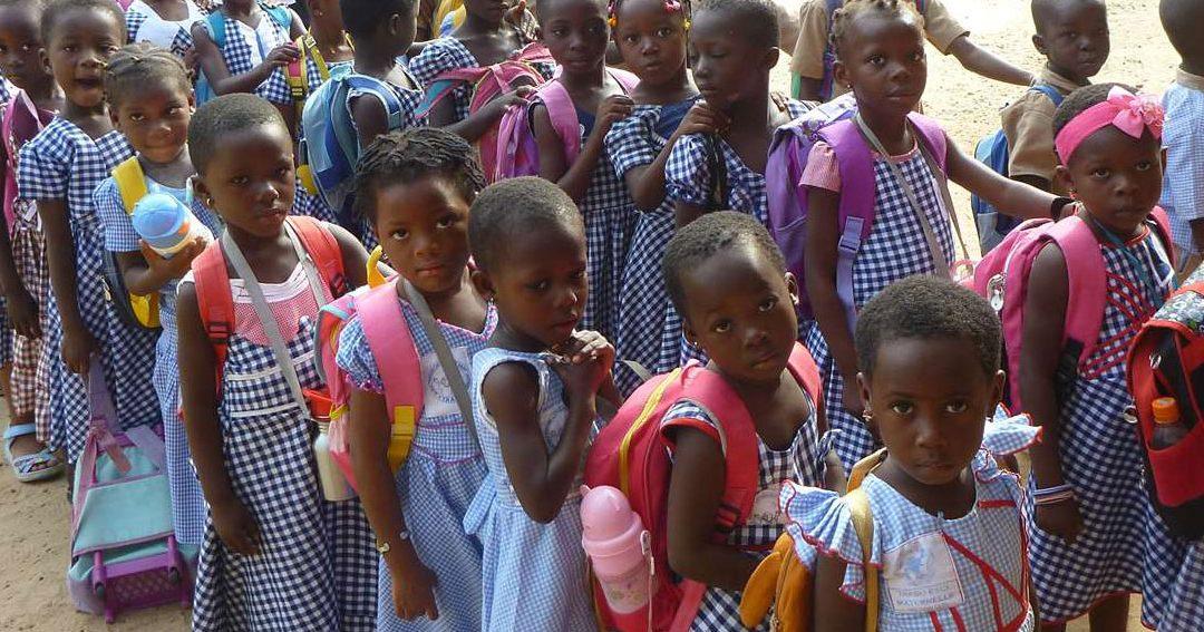 Une nouvelle école maternelle en Côte d'Ivoire